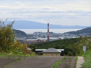 新日鉄と白鳥湾