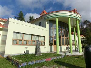 旧太陽小学校を改築した建物