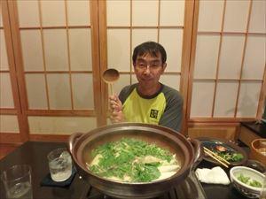 きりたんぽ鍋 美味!