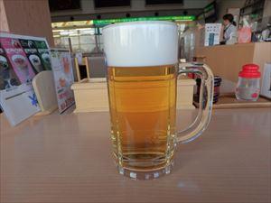 完走後のビールはやっぱり美味い!