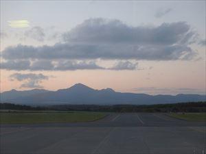 夕日がきれいな武佐岳