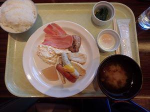 お米がおいしいホテルの朝食