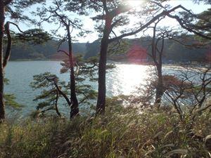 松島の夕日 きれいですね