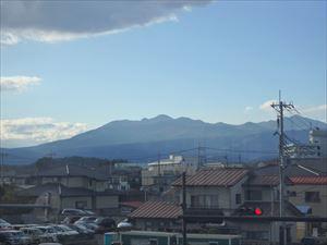 きれいな那須連山