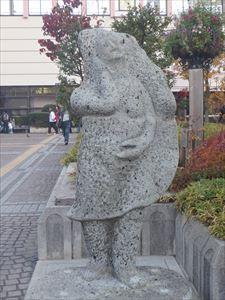 宇都宮のシンボル 餃子のオブジェ