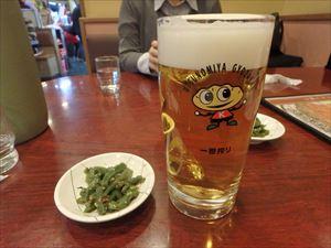 生ビールがうまい!