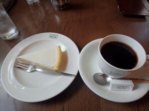 レアチーズケーキ 美味!