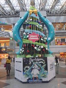 初音ミクのクリスマスツリー