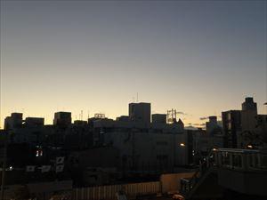 小田原の朝