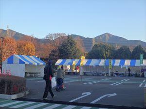 丹沢の山並 きれいです