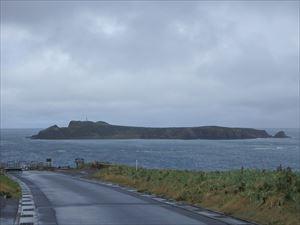 トド島全景 おもしろい形ですね