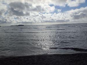 晴れてきた海 明日も晴れてほしい