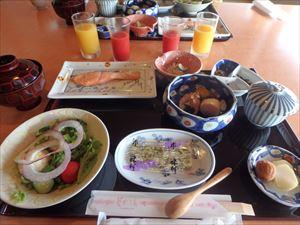 おいしい朝食 完食です