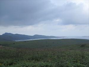 スコトン岬を遠望する