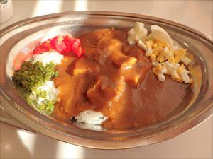 辛口がおいしい インデアンのカレー