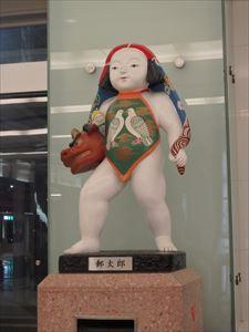 金沢の名物ポスト 「郵太郎」君こんにちは