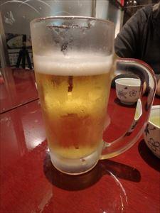 なまらおいしい生ビール つい、2杯いただく