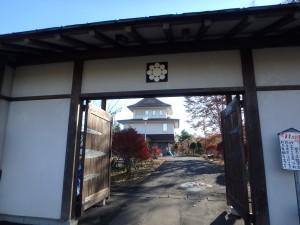登別郷土資料館 お城の形です