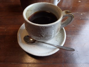 サイフォンのコーヒー とても懐かしい 美味でした