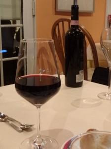 ワインがおいしくて つい、飲みすぎた