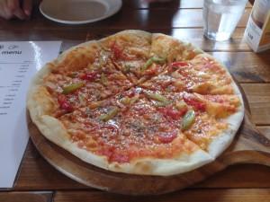 とてもおいしかったピザ また食べたい