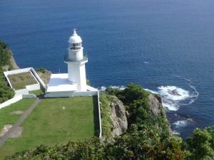 絵になるチキウ岬灯台