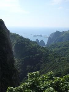 自然がいっぱいの地球岬