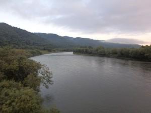 天塩川 結構大きい川だ