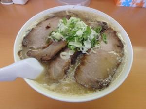 おいしかったミソチャーシュー麺