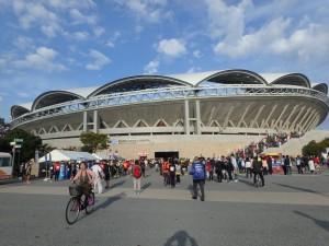 大きな デンカビッグスワンスタジアム