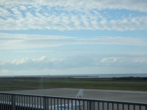 新潟のきれいな空