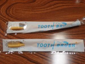 懐かしい歯ブラシ