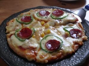 おいしかったミックスピザ