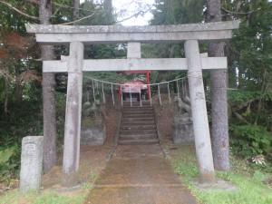 豊富温泉神社がありました