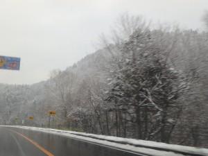 峠は寒い寒い もう冬だ