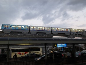 大阪モノレール 1度乗ってみたい