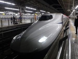 かっこいい新幹線「のぞみ」