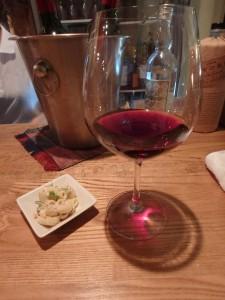 赤ワインも美味だった