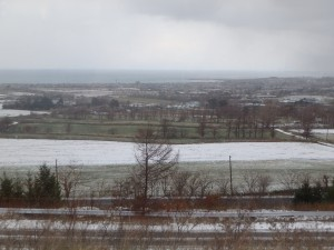 野も畑も白い雪♪