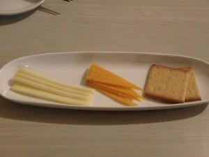 お勧めのチーズ二品