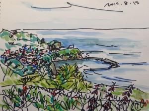 釣り日和の追直漁港