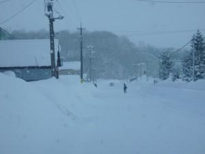 豪雪の街 倶知安