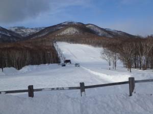 流れる音楽が楽しい 無くなって欲しくないスキー場