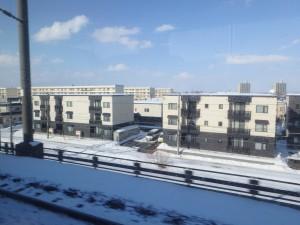 雪が少なめの札幌 でも人(外人)は一杯
