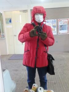 あなたは誰? 風邪予防のマスクがこわい