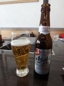 冬でもビール いいね北海道