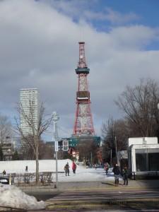 きれいなテレビ塔