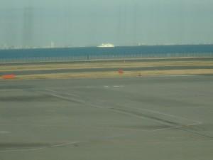 きれいな海が見えた 羽田空港