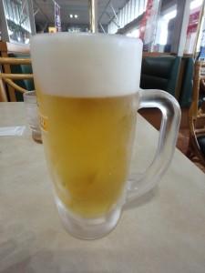 お待ちかねの生ビール
