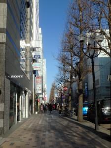 春の風がそよぐ 札幌の街並